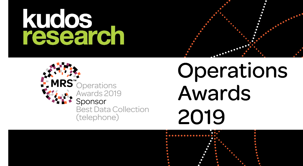 Kudos Research is a proud sponsor of <span>MRS Operations Awards 2019</span>