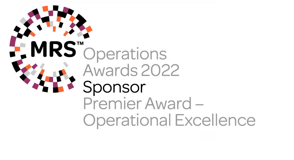 Kudos Research proud to be sponsoring <span>MRS Operations Awards 2021</span>